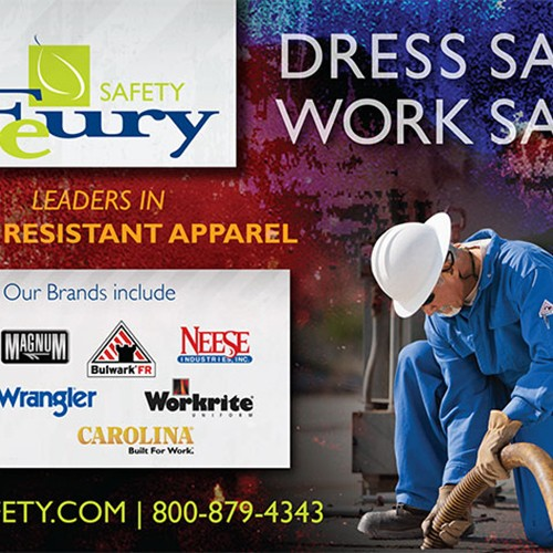 Feury Safety magazine ad
