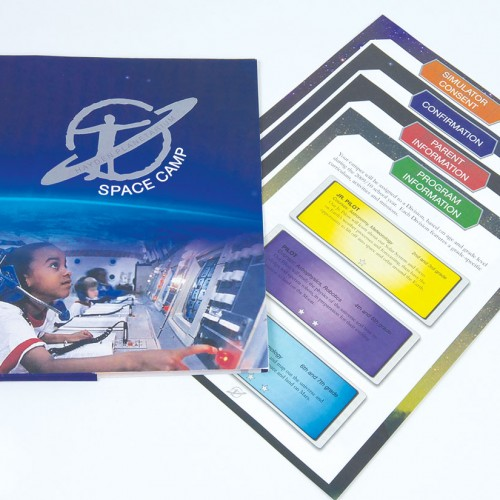 Registration folder and forms