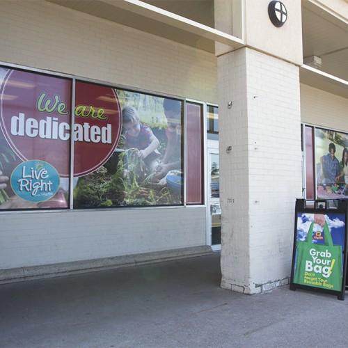 Store Entrance Graphics
