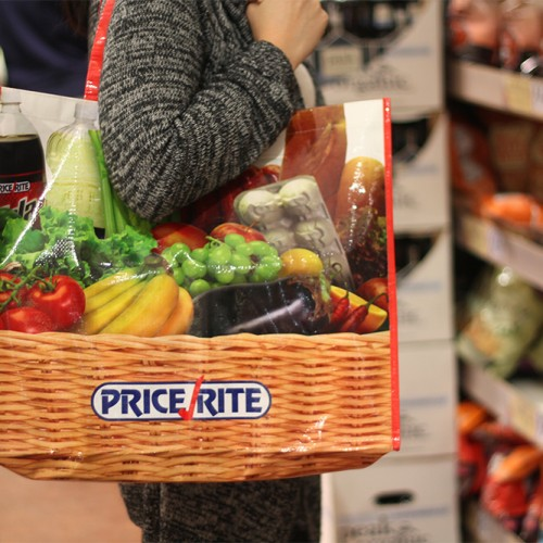 Price Rite bag in environment