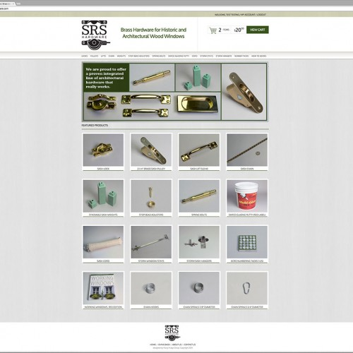 SRS Hardware homepage