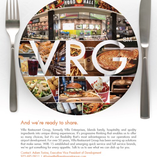 VRG Ad for Airport Revenue News
